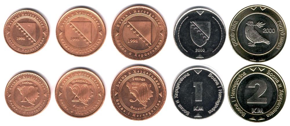 Bosnische Mark In Euro