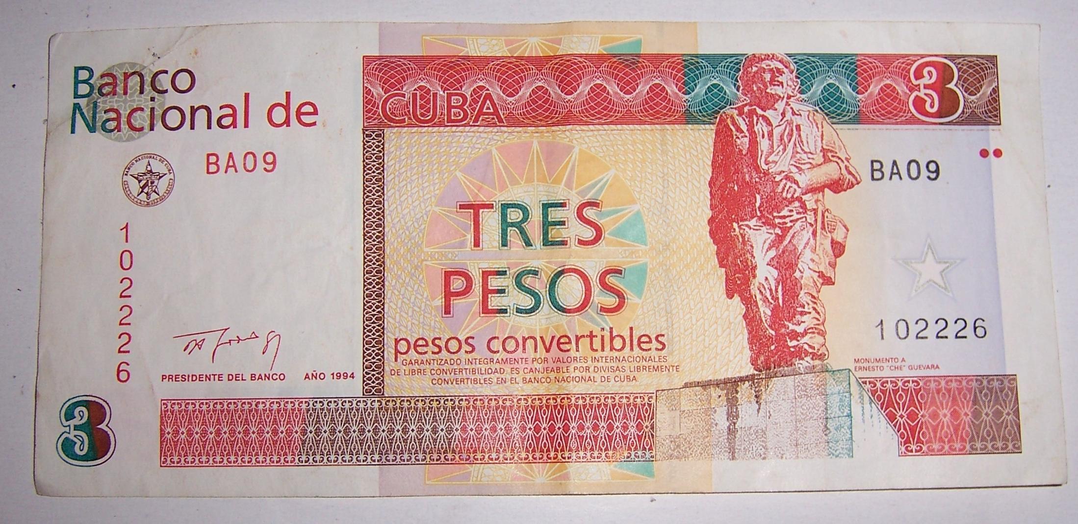 Cuba Cuc Convertible Peso Chavito Devalued By 8 Vs Usd