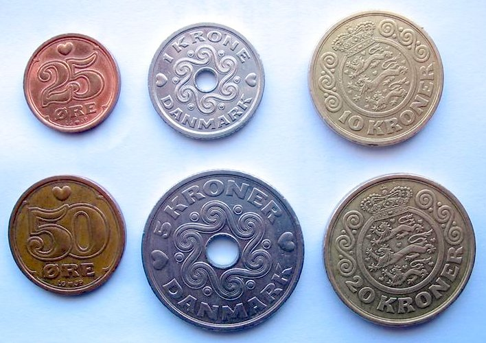 Danish Krone Currency Flags Of Countries