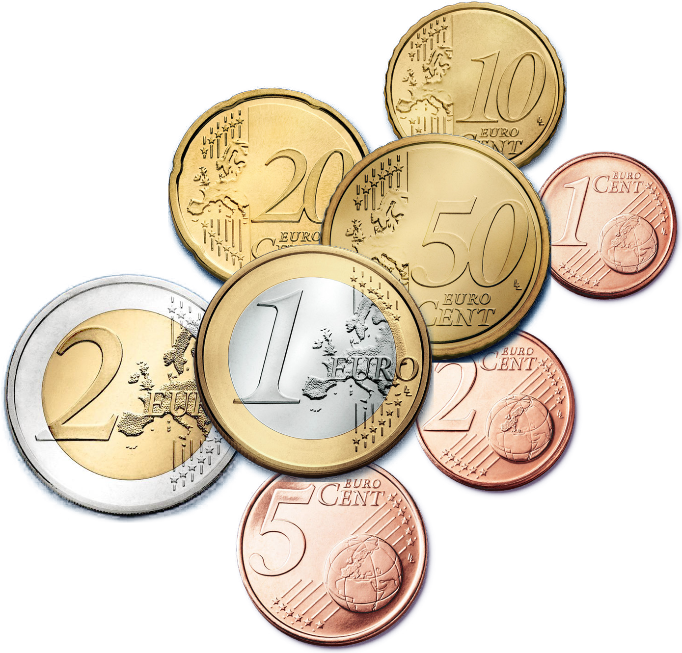 Euro Coins Pictures