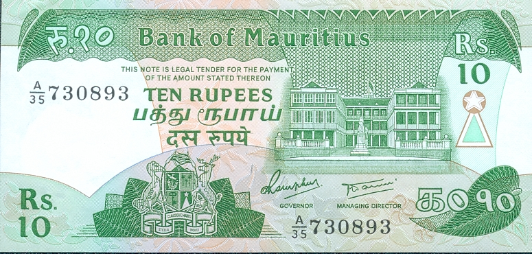 Mauritian Rupee Currency Flags Of Countries