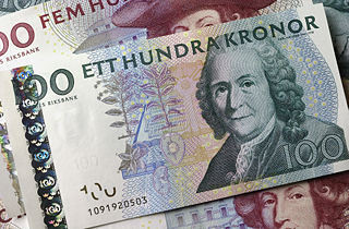 Swedish krona - currency | Flags of countries