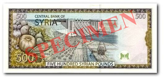 syrian pound currency flags of countries
