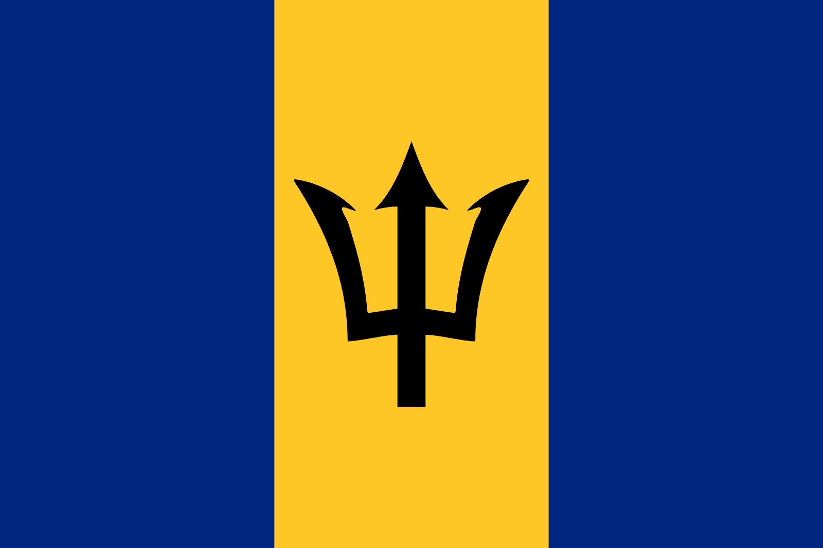 Barbados Flag High Resolution