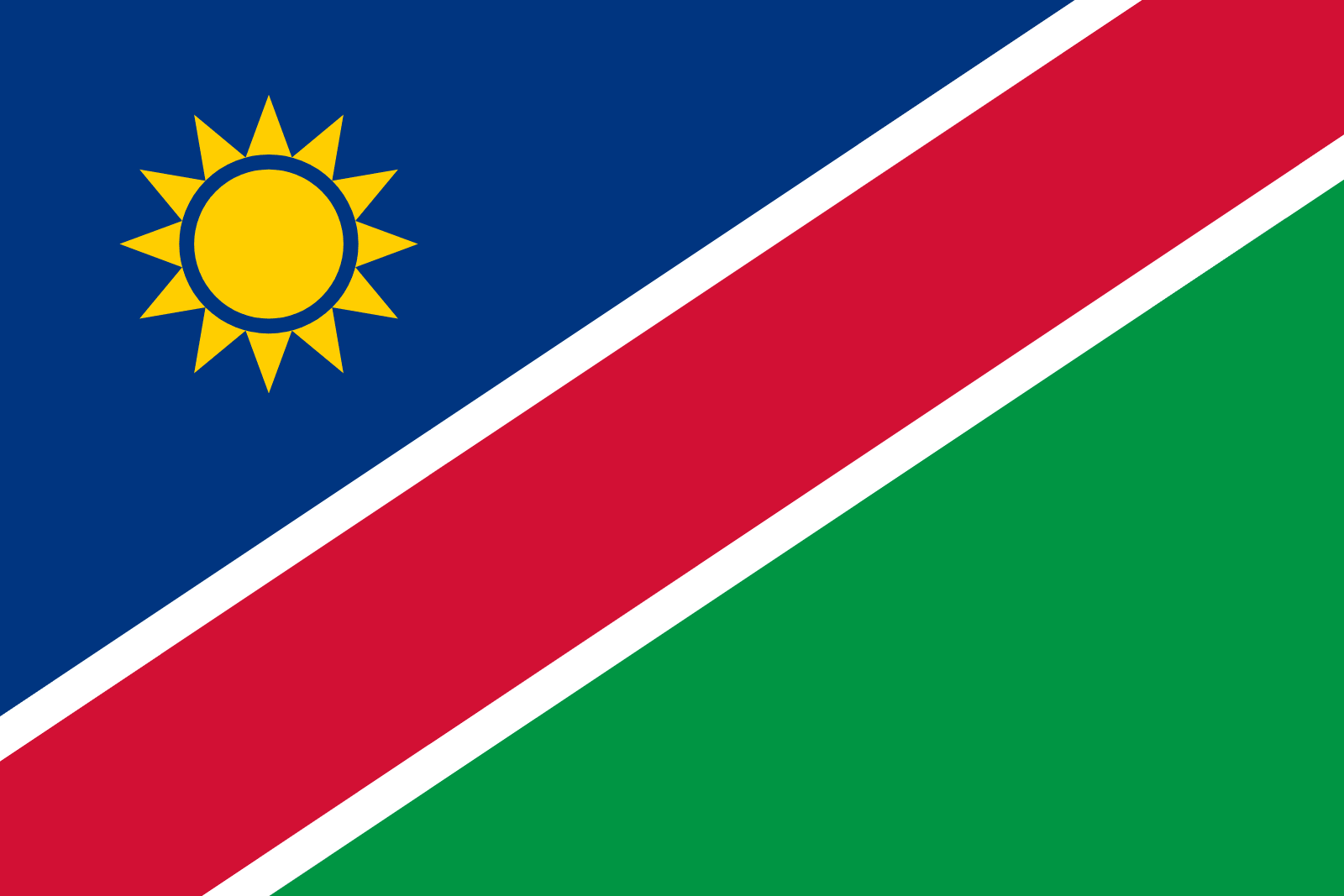 Image result for namibia flag