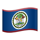 Belize Apple Emoji
