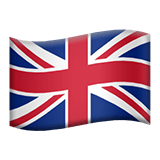 United Kingdom Apple Emoji
