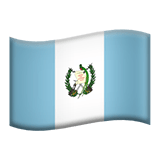 Guatemala Apple Emoji