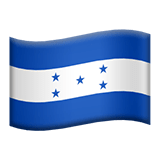 Honduras Apple Emoji