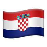 Croatia Apple Emoji