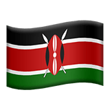 Kenya Apple Emoji