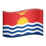 Kiribati Apple Emoji