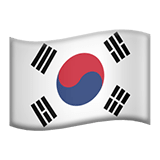 South Korea Apple Emoji