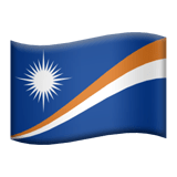 Marshall Islands Apple Emoji
