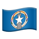 Northern Mariana Islands Apple Emoji