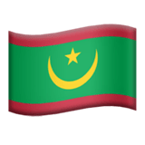 Mauritania Apple Emoji