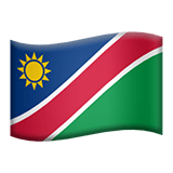 Namibia Apple Emoji
