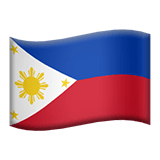 Philippines Apple Emoji