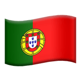 Portugal Apple Emoji