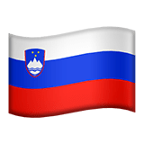 Slovenia Apple Emoji