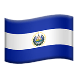 El Salvador Apple Emoji