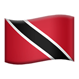 Trinidad and Tobago Apple Emoji
