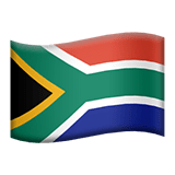 South Africa Apple Emoji