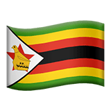 Zimbabwe Apple Emoji