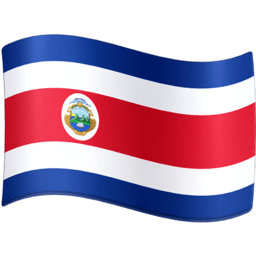 Costa Rica Facebook Emoji