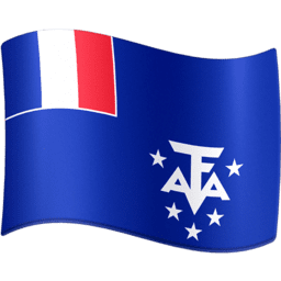 French Southern and Antarctic Lands Facebook Emoji
