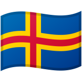 Åland Islands Android/Google Emoji
