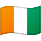 Côte d'Ivoire (Ivory Coast) Android/Google Emoji