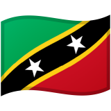 Saint Kitts and Nevis Android/Google Emoji