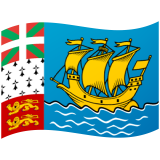 Saint Pierre and Miquelon Android/Google Emoji