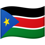 South Sudan Android/Google Emoji