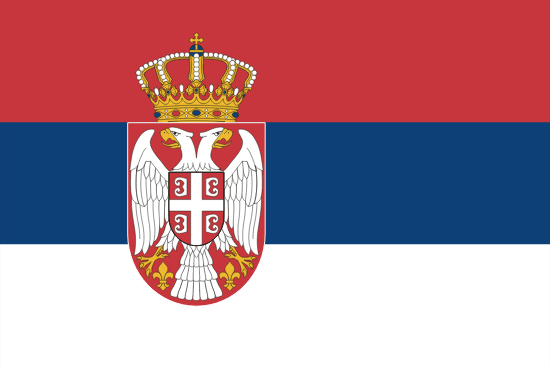 Flag of Serbia