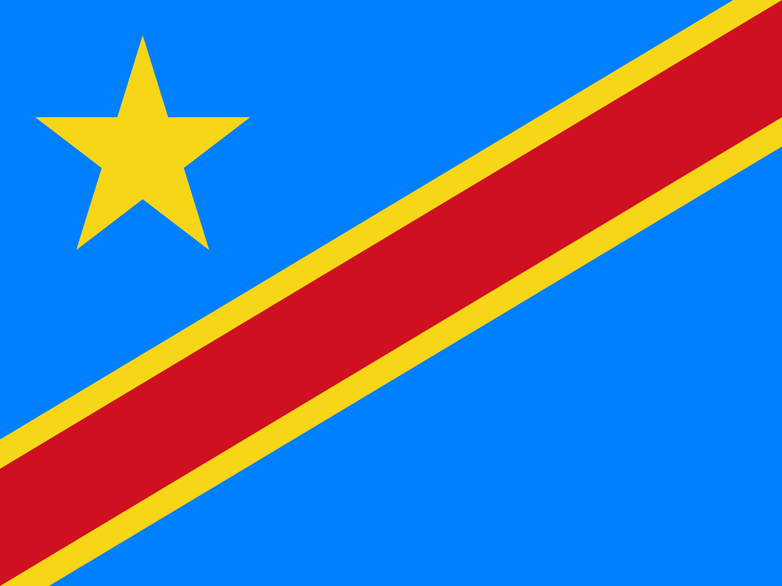 the democratic republic of the congo flag