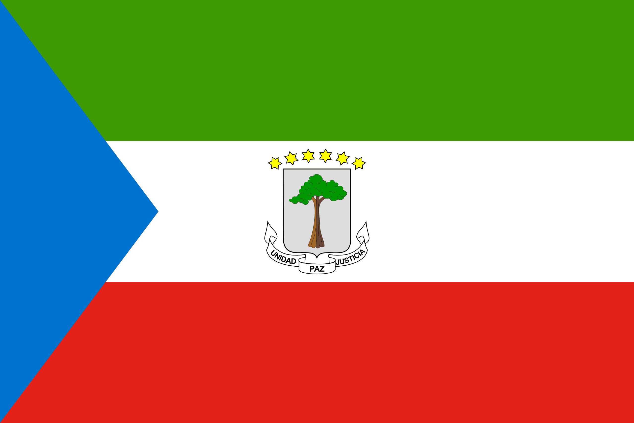 Equatorial Guinea Flags Of Countries