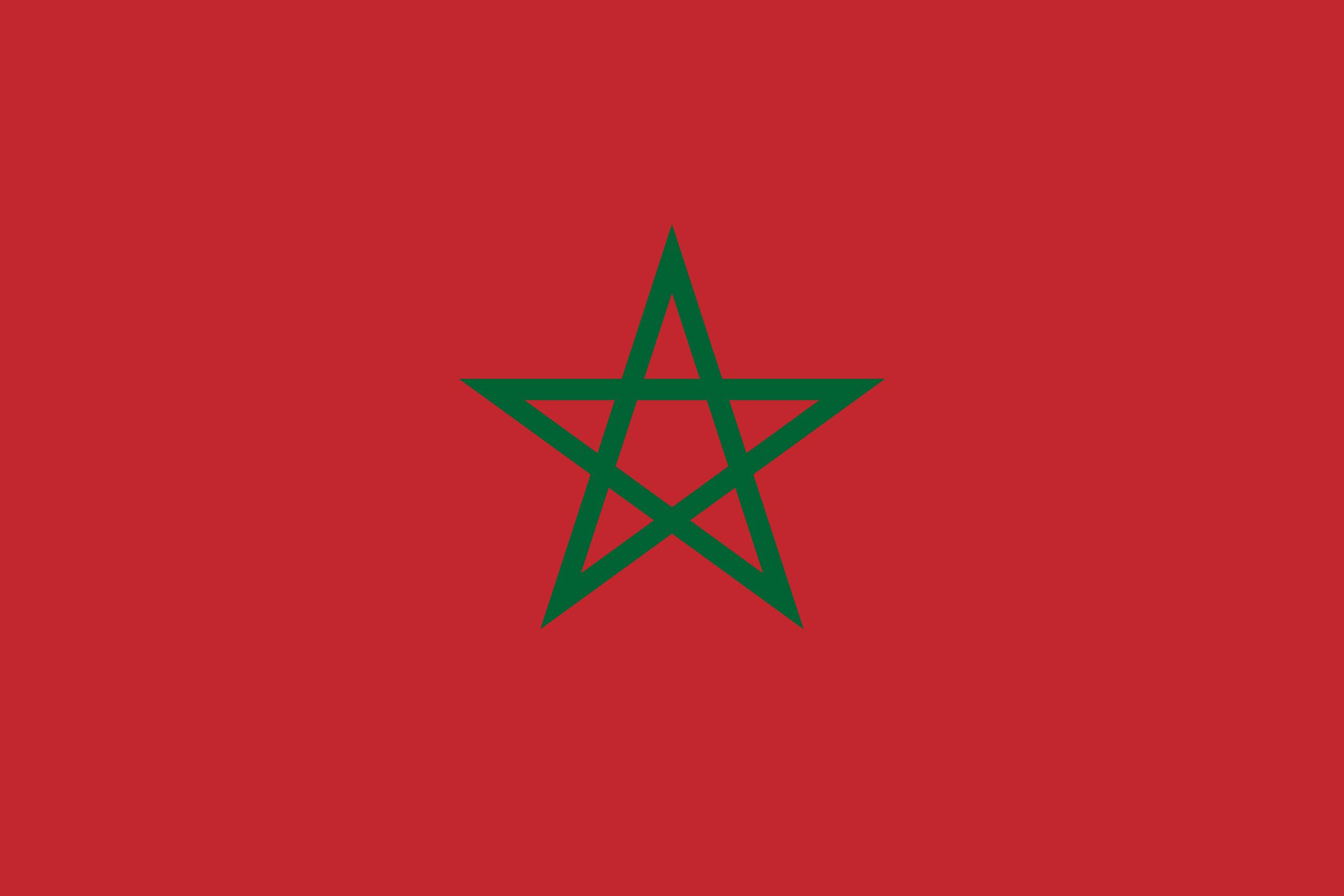 Резултат с изображение за morocco flag