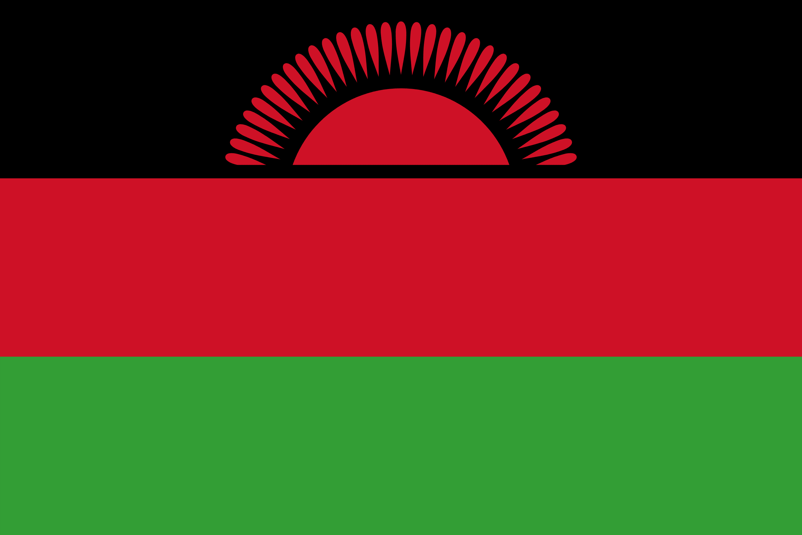 Malawi  Flags of countries