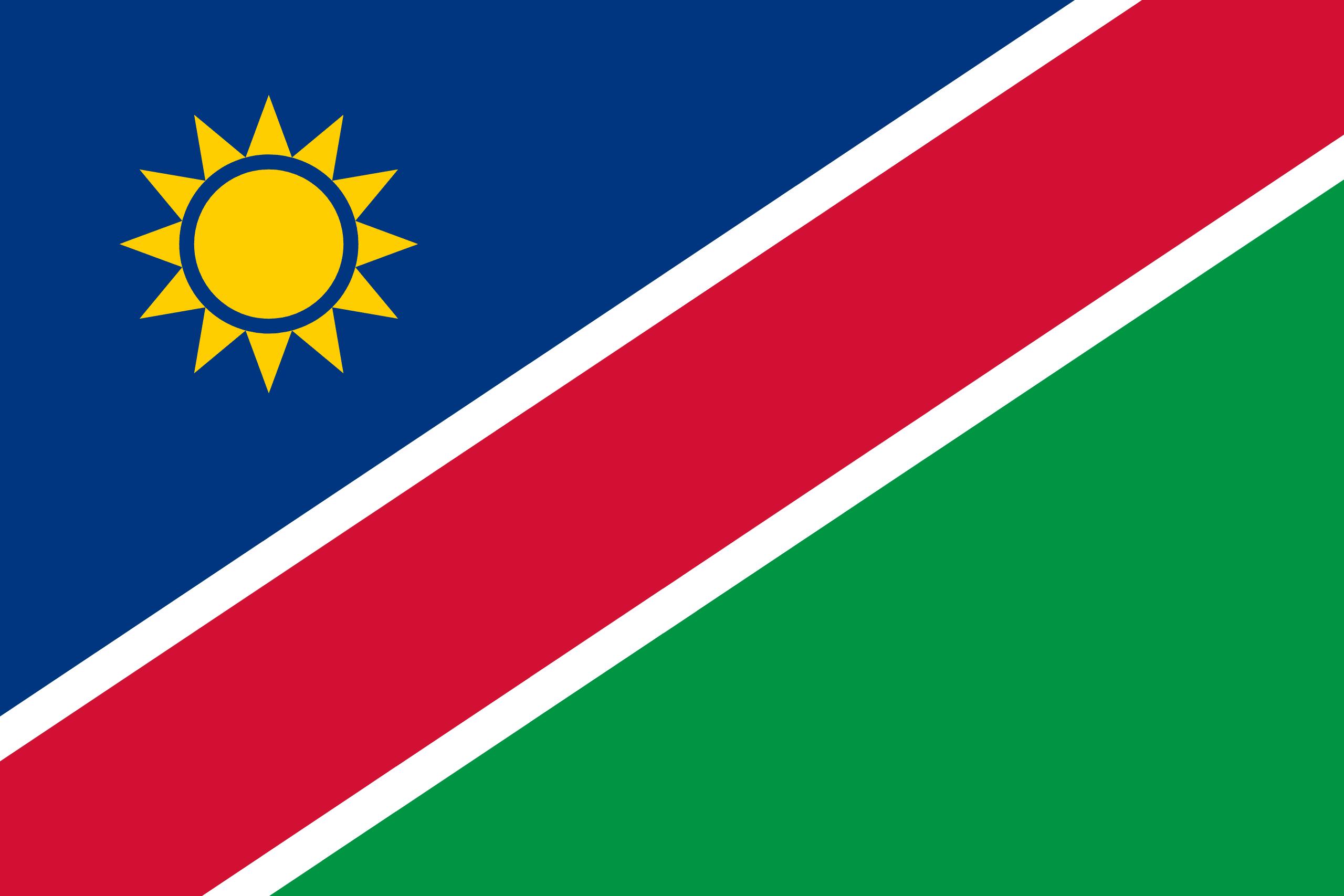 Afbeeldingsresultaat voor namibia flag
