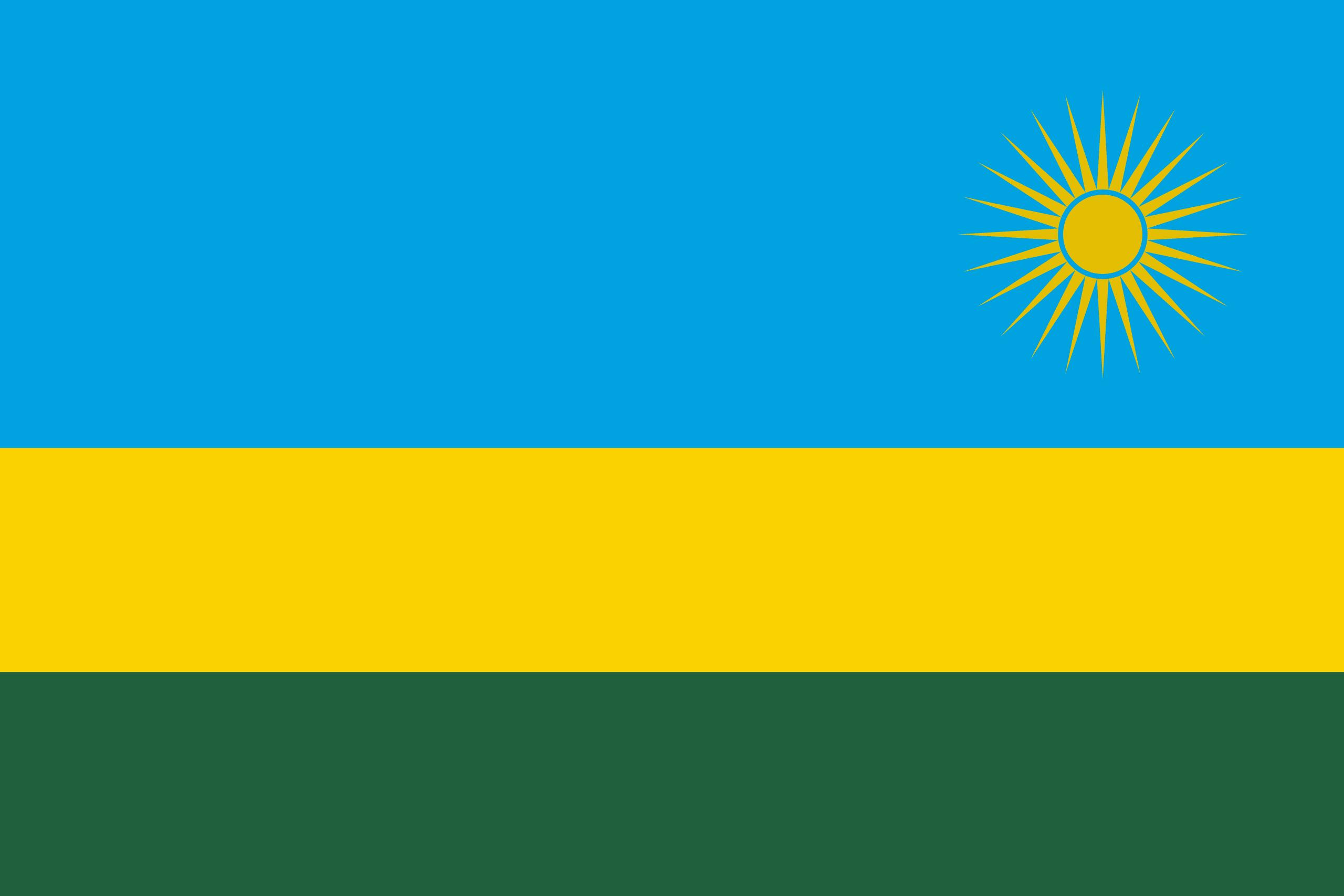 Rwanda Flags Of Countries - Rwanda flag
