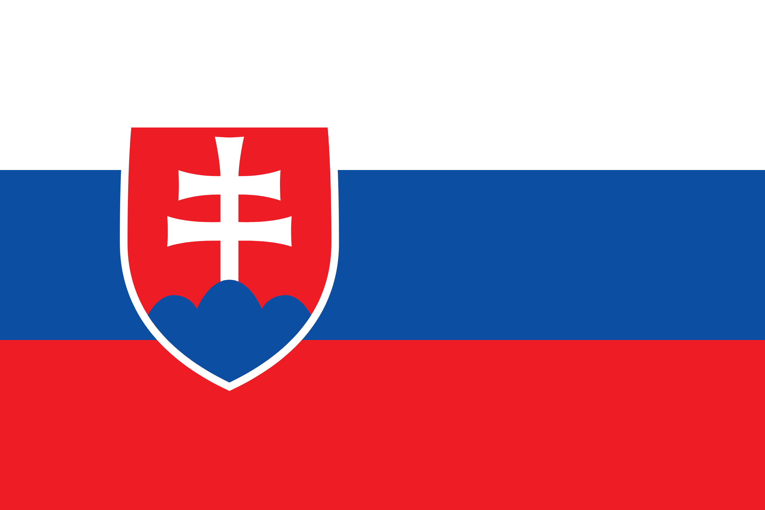 Image result for slovakia FLAG