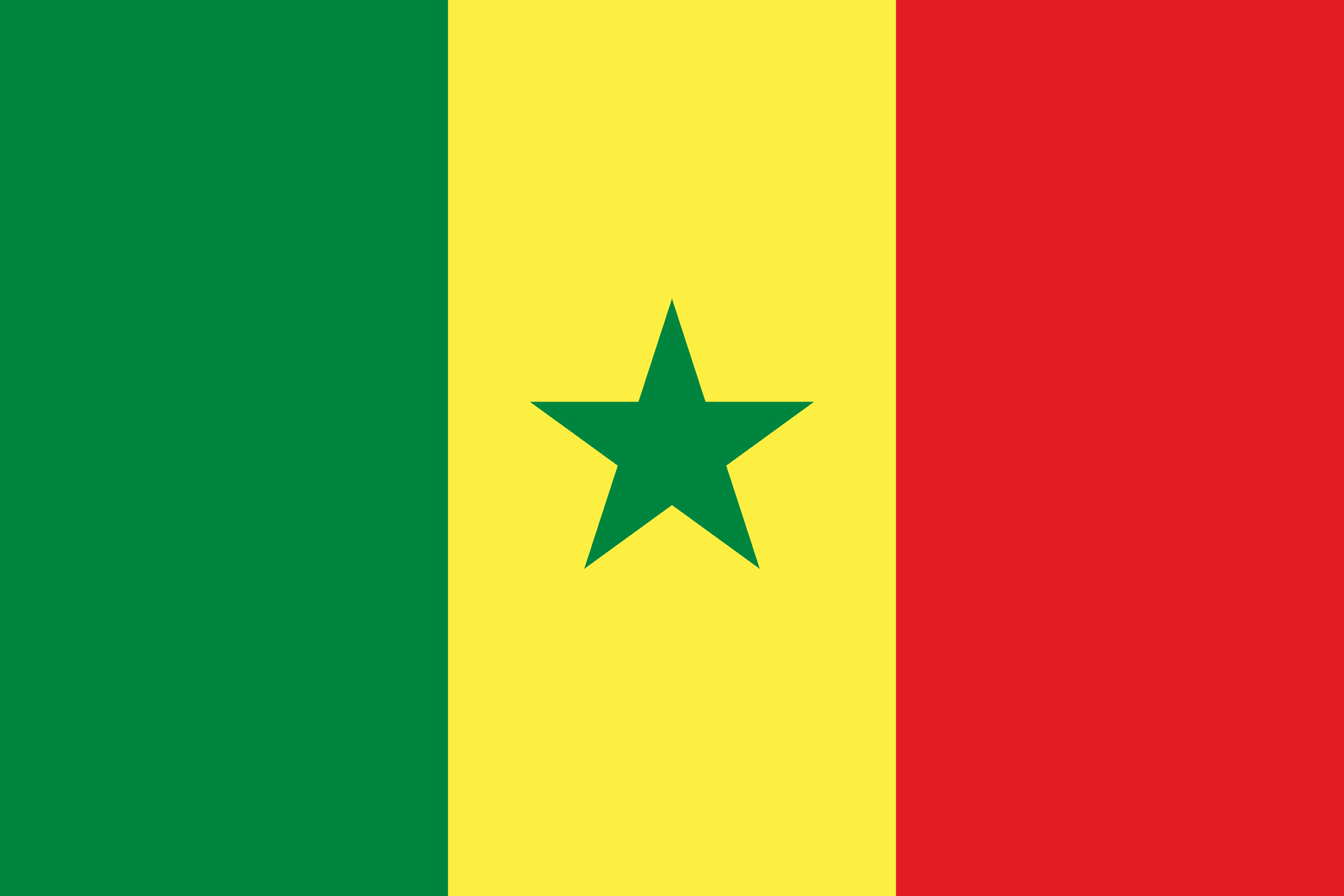 senegal flags of countries