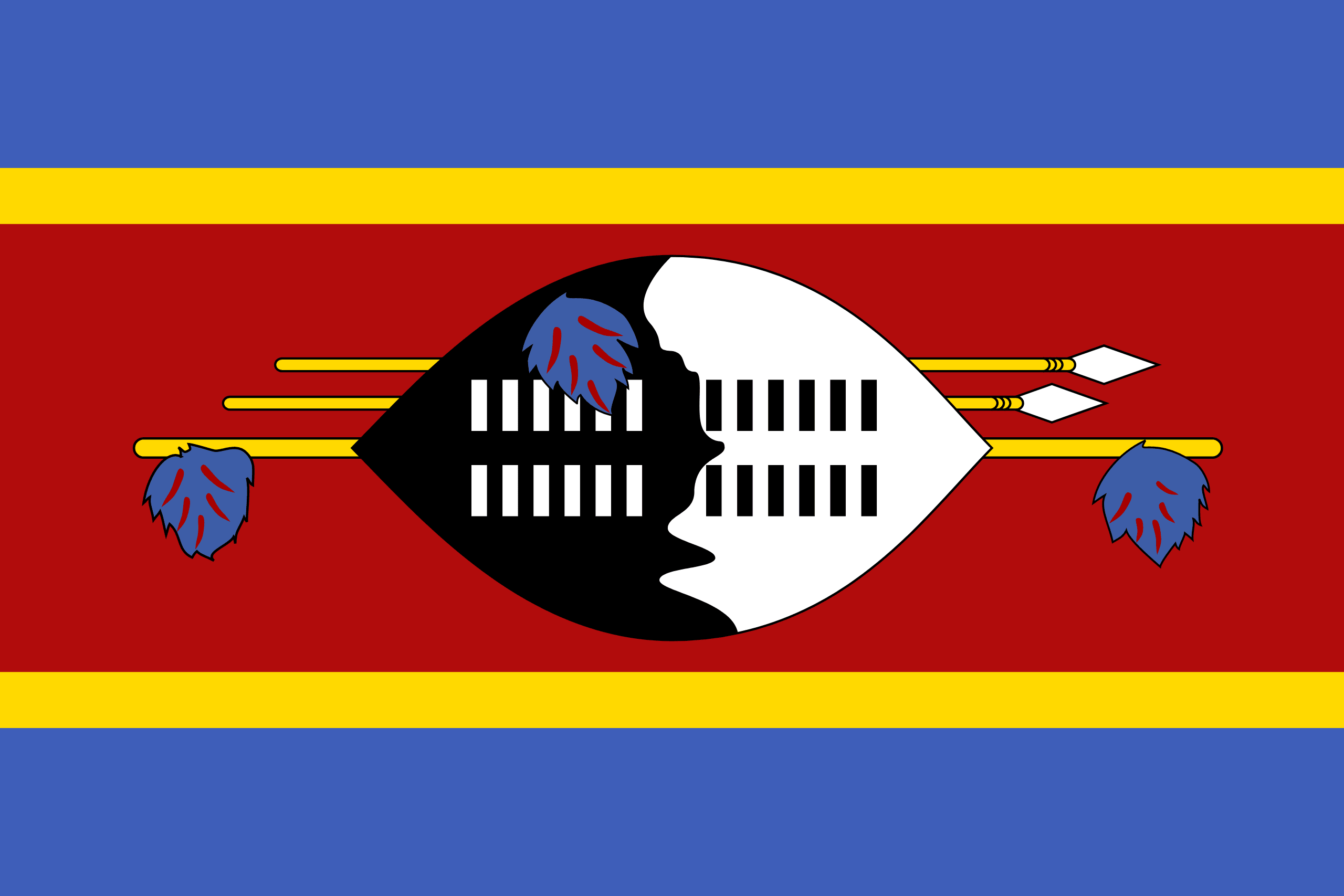 Flag of Swaziland – Flags of the world