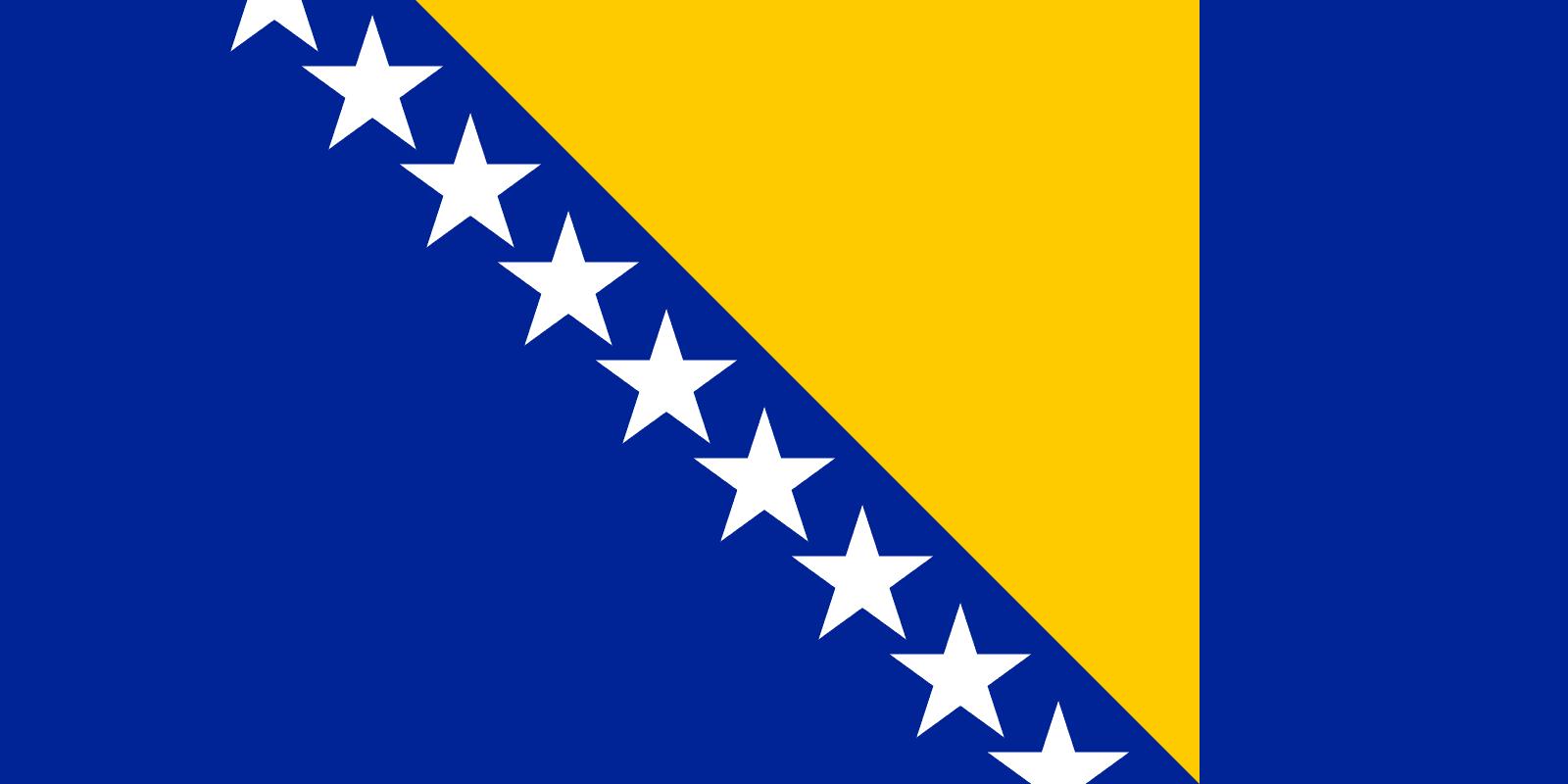 Flag Of Bosnia And Herzegovina Flagpedia Net