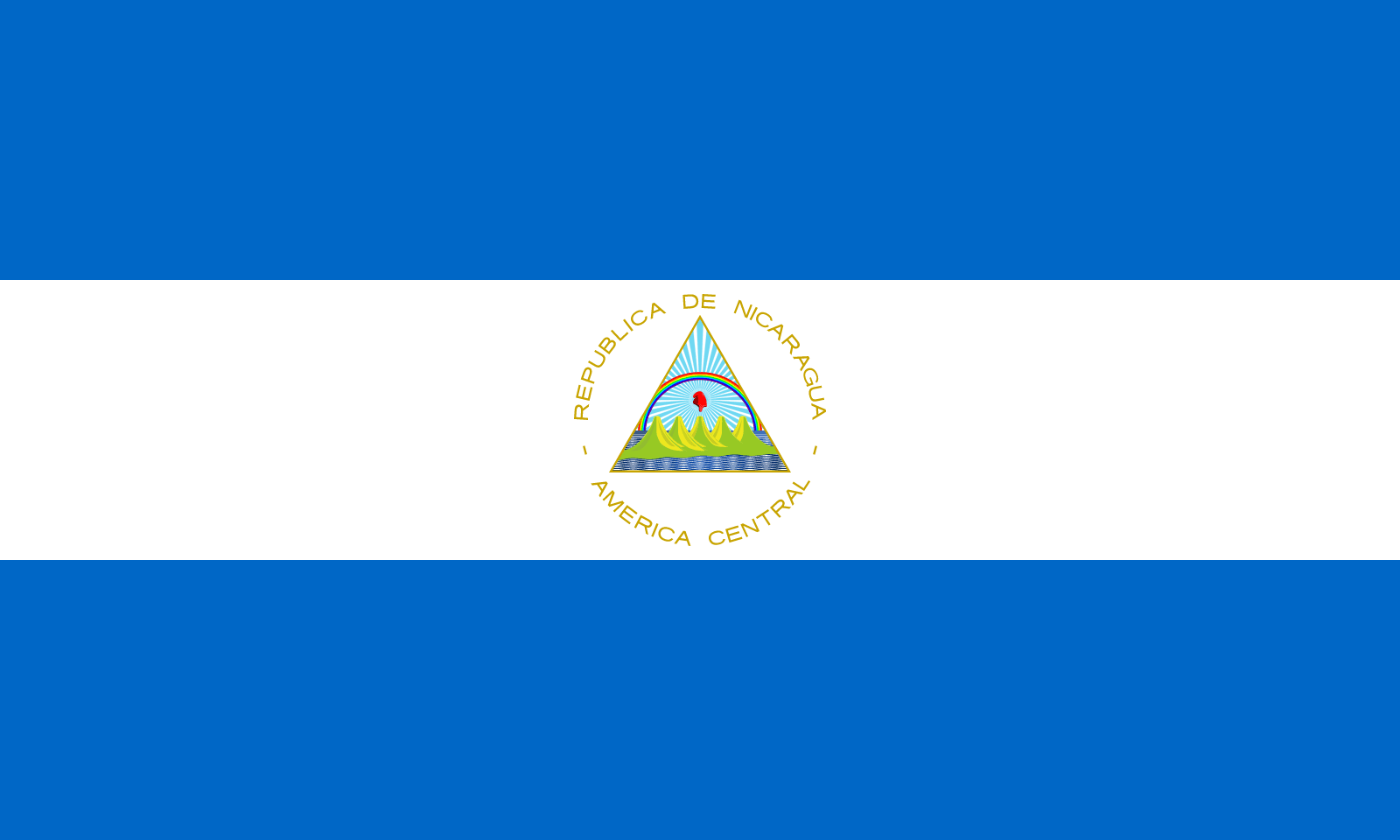 Flag Of Nicaragua Flagpedia Net