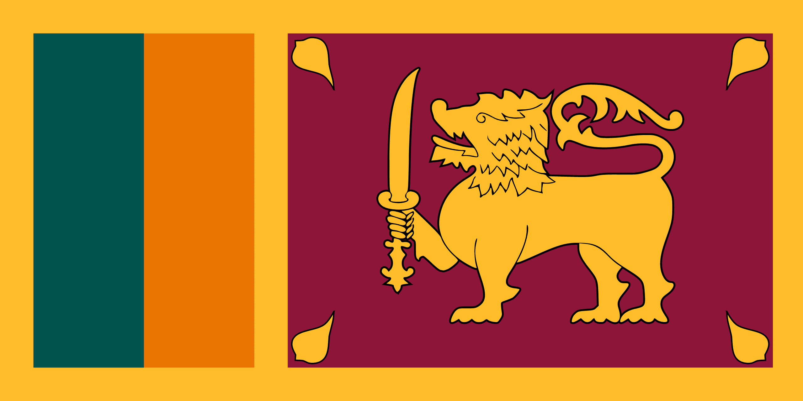 Flag of Sri Lanka 🇱🇰 – Flagpedia.net
