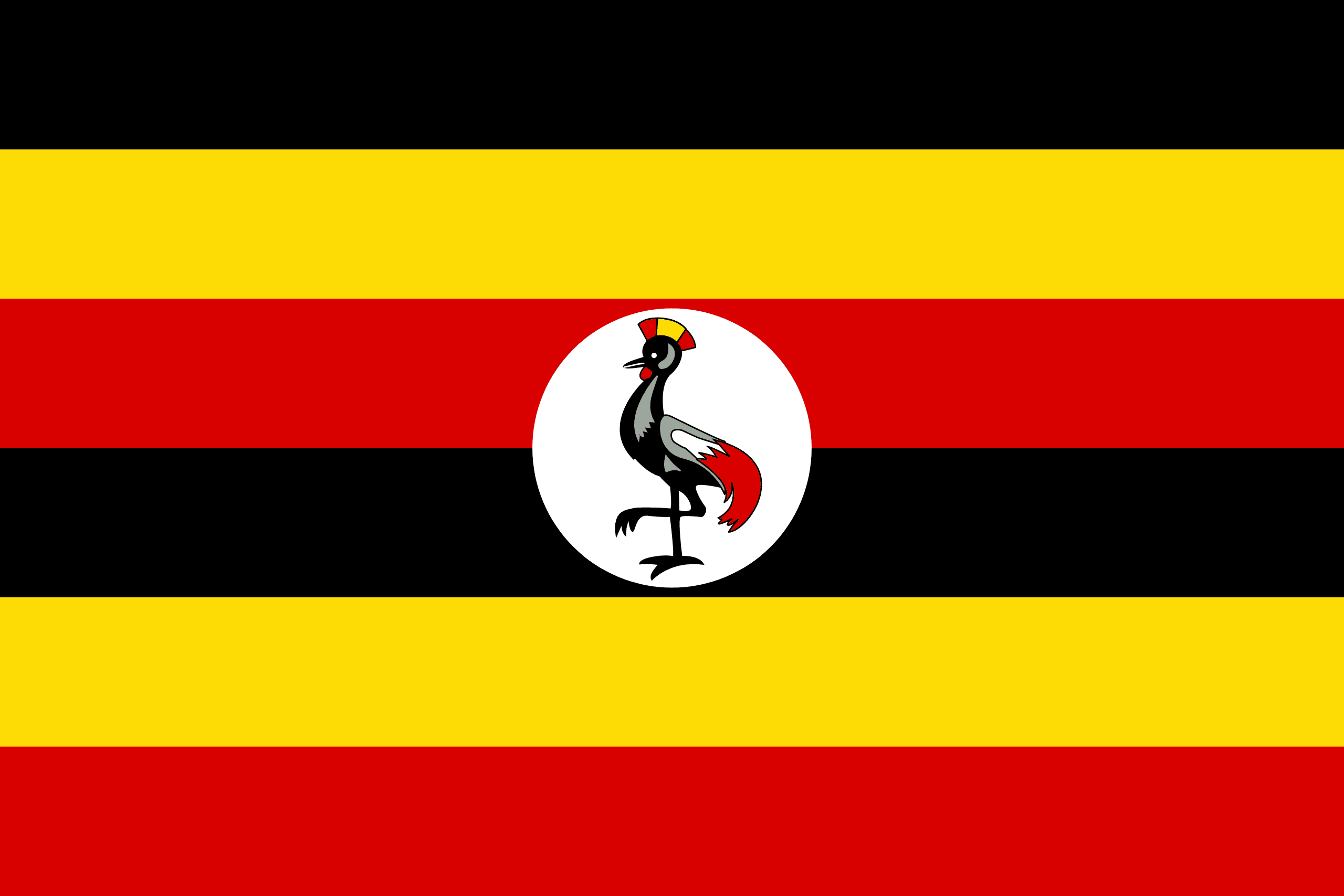 Flag of Uganda 🇺🇬 – Flagpedia.net