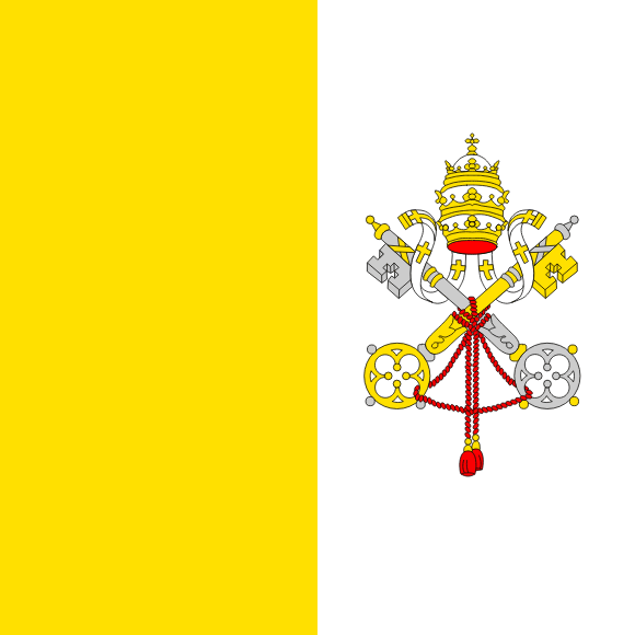 Flag of Vatican City (Holy See)